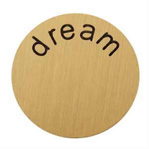 Picture of 'Dream' Large Gold Coin